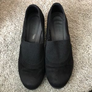 Black comfort plus wedges